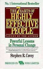 The 7 Habits of Highly Effective People, by Steven R Covey, Audio Cassettes