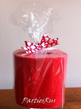 Red Coloured Toilet Paper Roll for Valentines Day, Inner Ply is White-RED LABEL