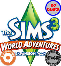 The Sims 3 World Adventures (PC&Mac, 2010) Origin Download Region Free
