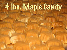4 lbs. ALL NATURAL Pure Vermont Maple Sugar Candy Perfect for any occasion