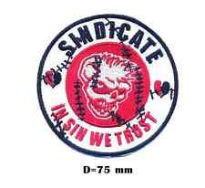 Mad Sin Sindicate  In Sin We Trust ! legendary psychobilly band logo