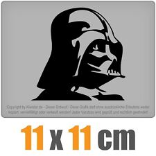 Darth Vader csf0575 11 x 11 cm JDM Decal Sticker Aufkleber Racing Die Cut