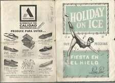 Programme Holiday On Ice Fiesta En El Hielo 1967