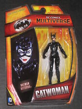 DC UNIVERSE 4 INCH MULTIVERSE BATMAN RETURNS CATWOMAN FIGURE MICHELLE PFEIFFER