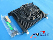 """30 ROW ENGINE/TRANSMISSION OIL COOLER + 7"""" ELECTRIC FAN"""