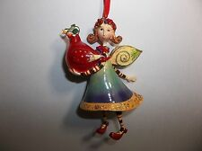 DEPT 56 Patience Brewster Krinkles 12 Days Of Christmas PARTRIDGE IN A PEAR TREE