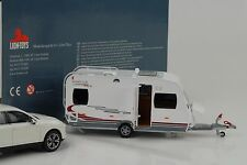 Caravanas Caravan Traveller Home car rally 45 1:43 Lions DIECAST/no Porsche