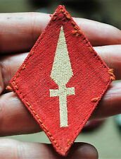 WW2 printed patch 1st corps