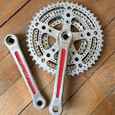 Pédalier STRONGLIGHT TRIPLE Randonneuse Crankset Old bike 14x125 Ancien Meral