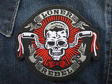 ECUSSON PATCH THERMOCOLLANT LONER REBEL biker chopper rockabilly crane country