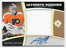 15/16 Ultimate Spectrum Silver #63 Anthony Stolarz RC Jersey Autograph #110/149