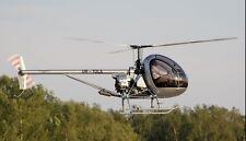 Aerokopter AK1-3 Sanka Ukrainian Helicopter Wood Model Replica XL Free Shipping