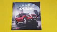 Peugeot 2008 SUV Distribuidor Oficial folleto de papel de marketing 2016 tiempo de menta