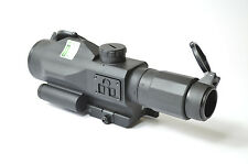 VISM by NcStar Gen 3 SRT 3-9x40 Rifle Scope with Green Laser VSRTP3940GV3
