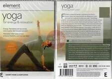 Element: Yoga for Energy and Relaxation NEW DVD tone muscle improve sleep focus