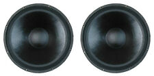 NEW (2) SubWoofer Speakers.PA.8 ohm.bass cabinet PAIR Woofer replacement.Sub.DJ