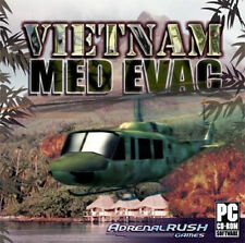 VIETNAM MED EVAC  Daring Rescues, 100 Missions  NEW PC Game  Helicopter Sim