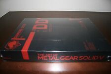 The Art of Metal Gear Solid V 5 Hardcover Limited Edition NEW Art Book Official