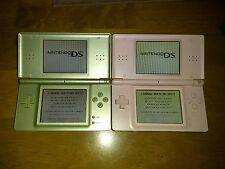 Nintendo DS Lite System Zelda Triforce and pink DS lite. Charger and 8 games!!!