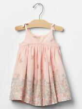 BABY GAP FLORAL BORDER BOW DRESS NWT 18-24Month N12