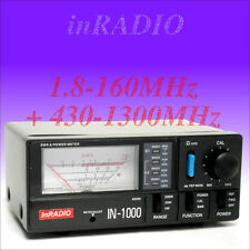 INRADIO IN-1000 SWR & POWER METER 1.8-160 + 430-1300MHz + FAST DELIVERY - IN1000