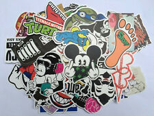 Hot 100PC Random Vinyl Sticker Skate Graffiti Laptop Luggage Car Bomb Decal Lot