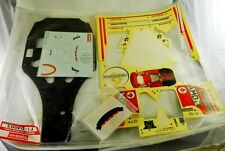 KYOSHO FERRARI F 2004 1/8 CHASSIS AND DECALS MISCELLANEOUS PARTS
