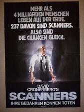 David Cronenbergs SCANNERS (Original Filmplakat ) Din A1