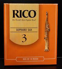 """""""RICO ROSSE"""" LOTTO DI 5 ANCE SAX SOPRANO   TENSIONE: 2.5 -  3.5"""