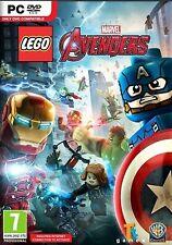 LEGO Marvel Avengers (PC DVD) NUEVO PRECINTADO