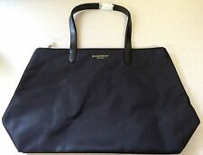 Givenchy Parfums Black Tote Bag w/Leather Handles- NEW 100% AUTHENTIC!