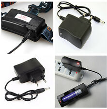 60cm EU Plug Wall AC Charger for 18650 Rechargeable Battery Headlamp Flashlight