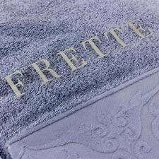 Frette Luxus Badetuch 70x140 cm 100% Baumwolle Blau Handtuch Sauna SPA NEU OVP