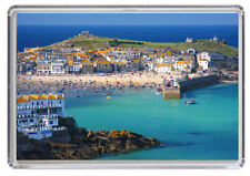 St Ives Cornwall England Fridge Magnet 01