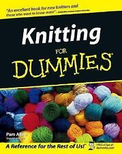 Knitting For Dummies For Dummies Lifestyles Paperback
