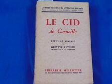 Reynier Le Cid de Corneille, étude et analyse par gustave Reynier...