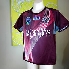 MANLY SEA EAGLES   2014 AUCKLAND NINES JERSEY  Kids Size 10