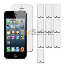 10X New Clear LCD Screen Shield Guard Protector for Apple iPhone 5 5C 5G 5S