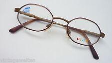 Safilo Kinderbrille Jungenbrille braun messing Federbügel preiswert günstig neu
