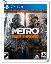 2 IN 1 PS4 METRO REDUX SONY PlayStation 4 Action Games Deep Silver
