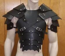 CUSTOM CRAFTED SENTINEL GOTHIC CHEST BACK AND SHOULDERS armor LARP COSPLAY