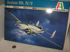 New Italeri 1253 Hudson Mk1V/V Model Kit in 1:72 Scale.