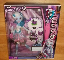 Monster High Dolls Ghouls Rule  ABBEY BOMINABLE Doll