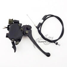 Throttle Cable Thumb Accelerator Dual Brake Lever For 50 70 90 110 125 ATV Quad