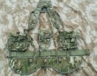 New British Army MTP PLCE Yoke Belt Hip pad Double Ammo Pouches Infantry Webbing