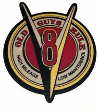 Aufkleber / Sticker V8 - Old Guys Rule -  Oldschool/Retro/Hot Rod/Rockabilly