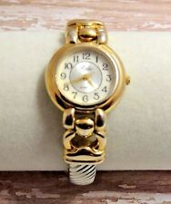 Beautiful Ladies Relic Silver & Gold Tone Watch - Bracelet Band New Battery