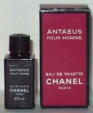 """MINIATURE DE PARFUM CHANEL """"ANTAEUS"""" POUR HOMME EAU DE TOILETTE 4ml + BOITE"""