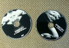2 - P90X DVDs #1 Chest and Back AND #11 Cardio X! FREE SHIPPING!!!