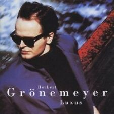 "HERBERT GRÖNEMEYER ""LUXUS (ENGLISH VERSION)"" CD NEU"